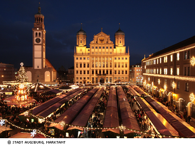 Christmas market in Augsburg