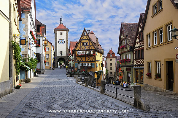 Rothenburg ob der Tauber - one of the favourite stops along the Romantic Road