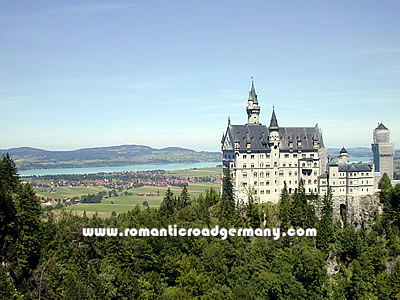 Romantic Road Germany Information Maps And Sights - Germany map romantic road