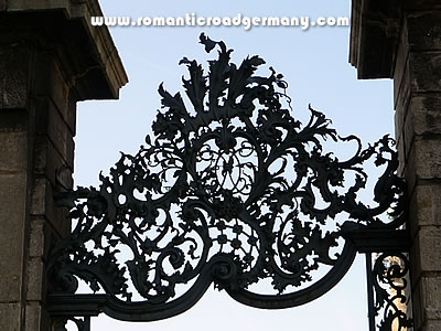Wrought-ironwork at the Würzburg Residence