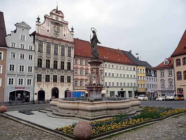 Landsberg am Lech: Main Square